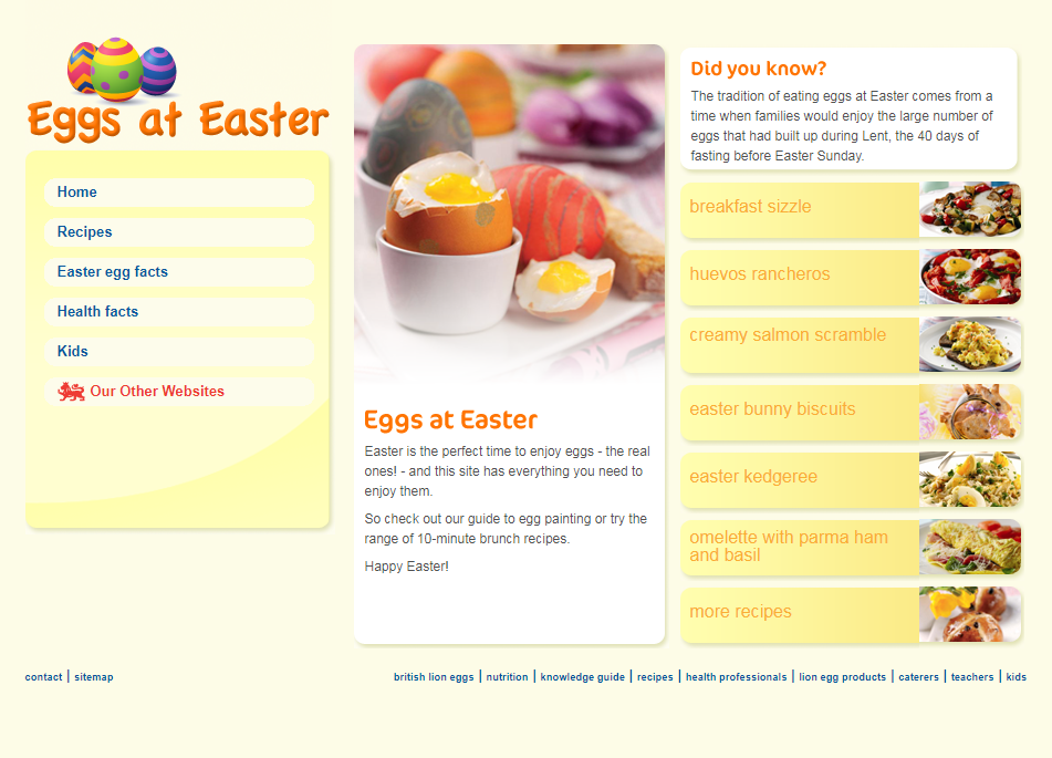 Eggs at easter egg recipes british lion eggs eggs at easter to view pages from this archived website please click this link and download the pdf document forumfinder Images