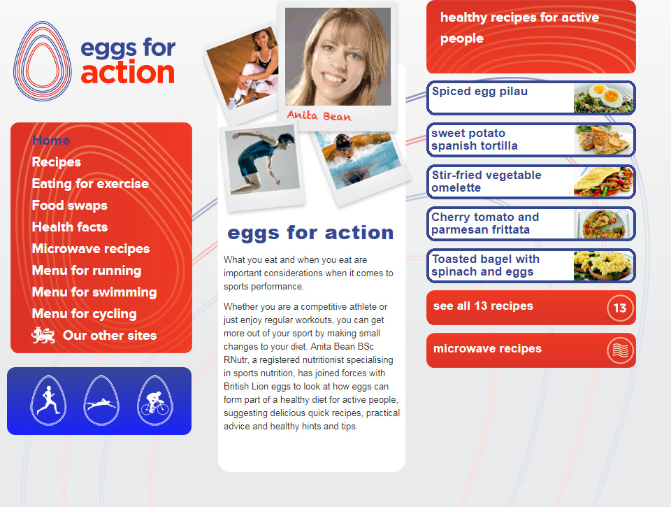 Eggs for action