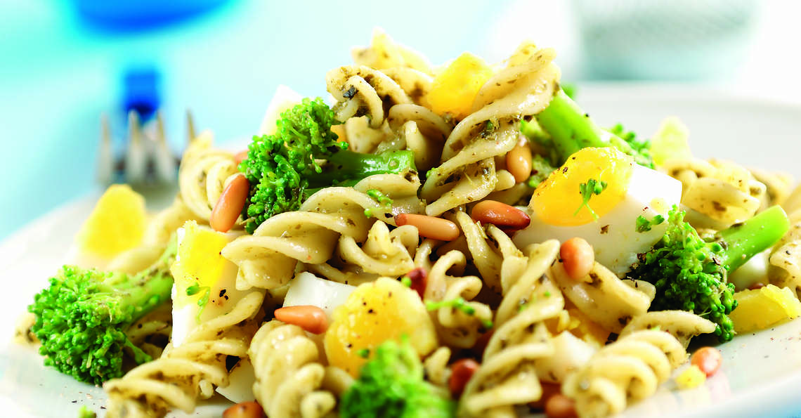 Egg and broccoli pasta recipe