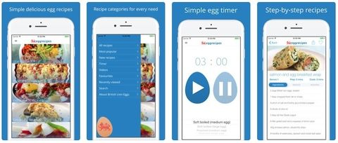 Egg recipes app