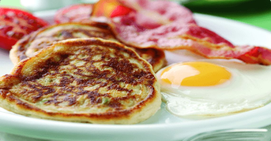Irish boxty pancakes