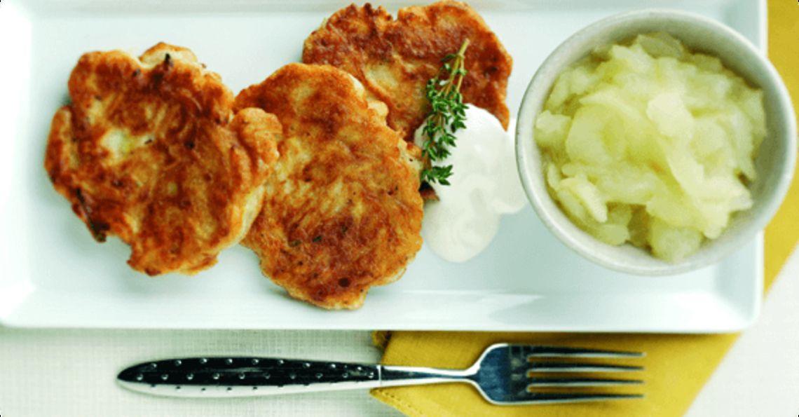 Israeli potato pancakes