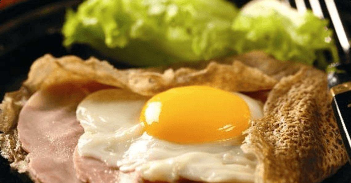Breton ham pancakes