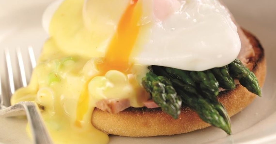 Springtime Eggs Benedict
