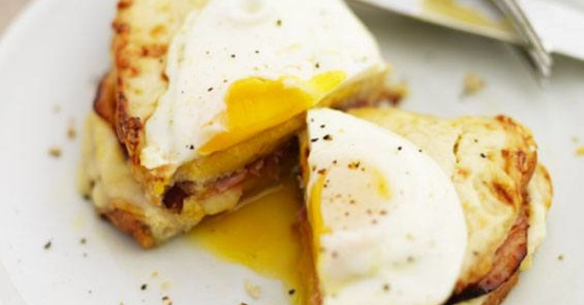 Gizzi Erskine's cheat's croque madame