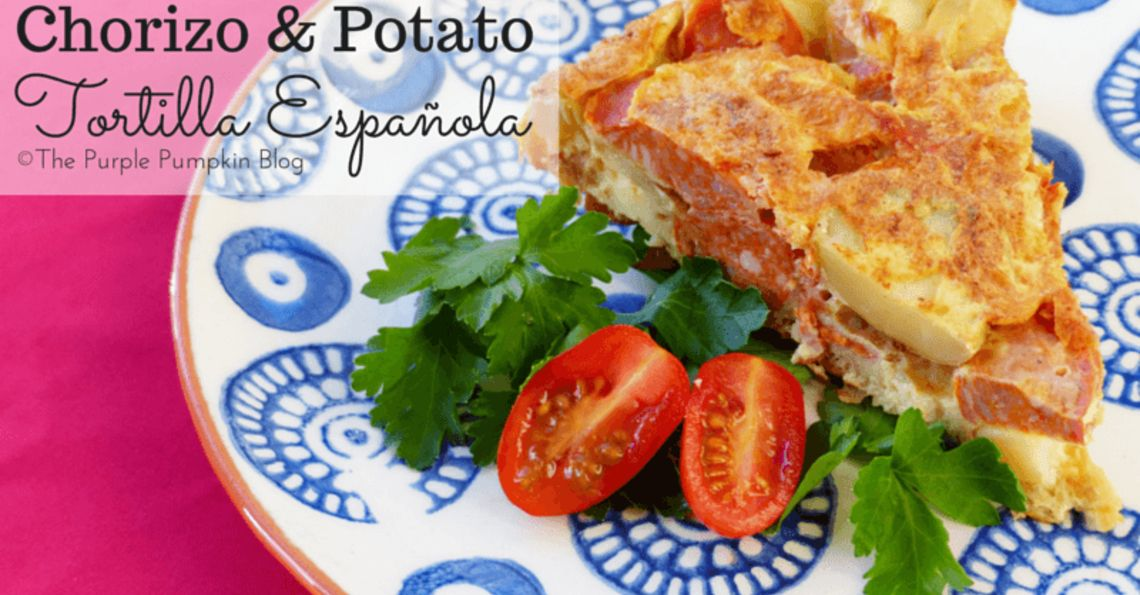 Chorizo & potato tortilla Española