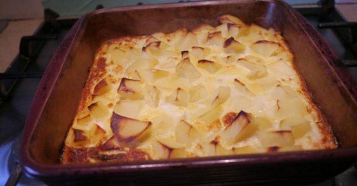 Salmon and potato frittata