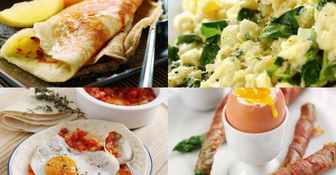 Top 10 Egg Dishes for the whole family