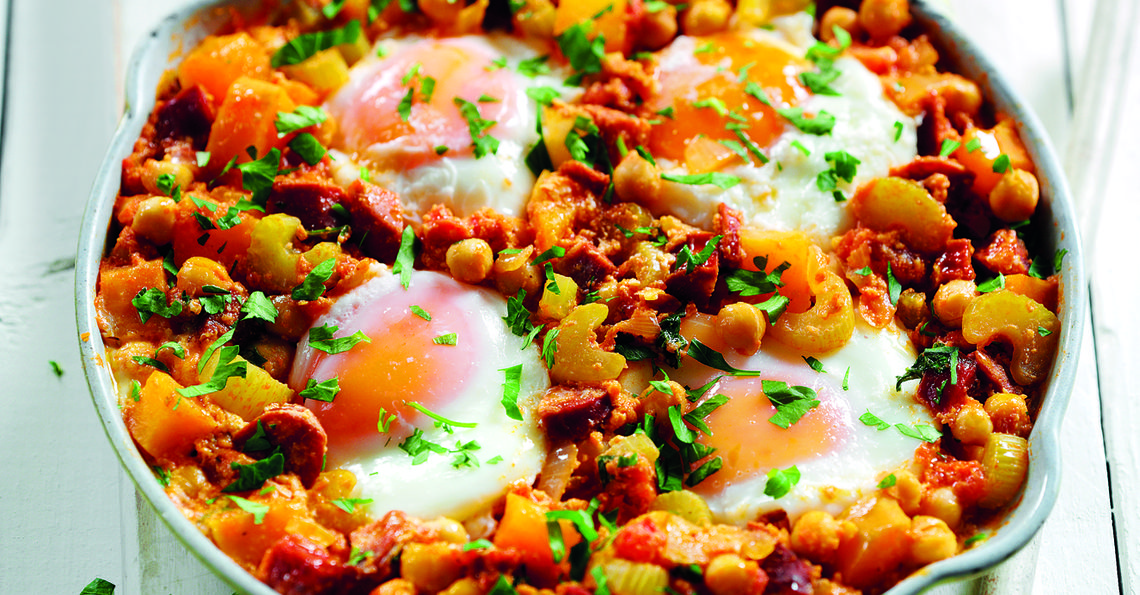 Egg and chorizo casserole