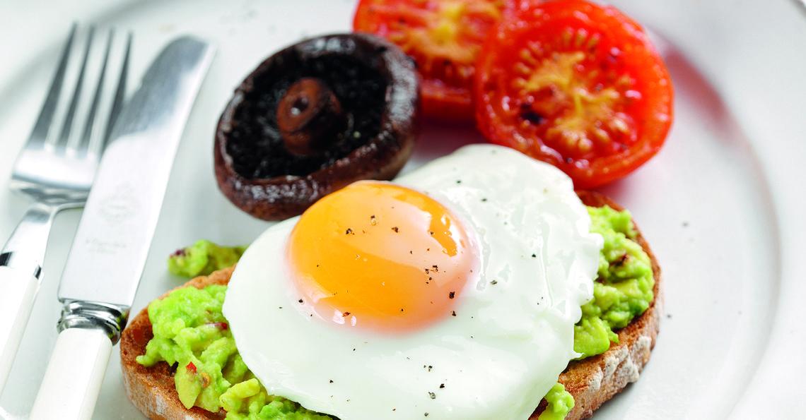 Healthy New Style British Breakfast Recipe Egg Recipes