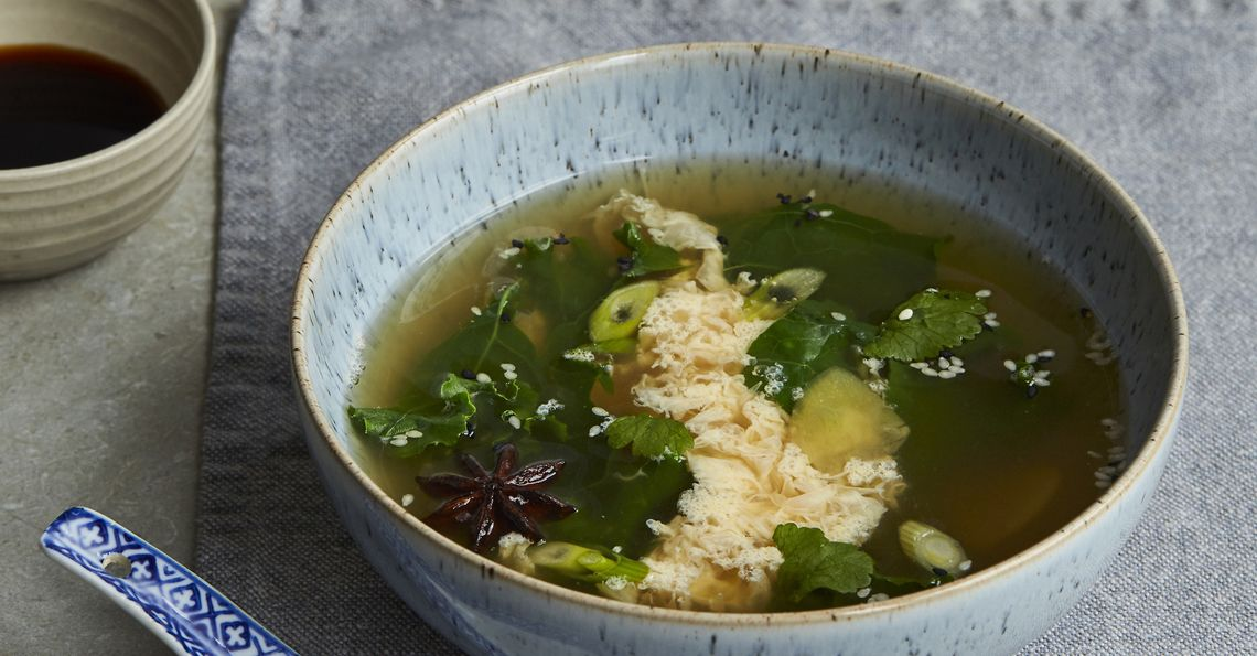 Tom Daley's Chinese Egg Drop Soup