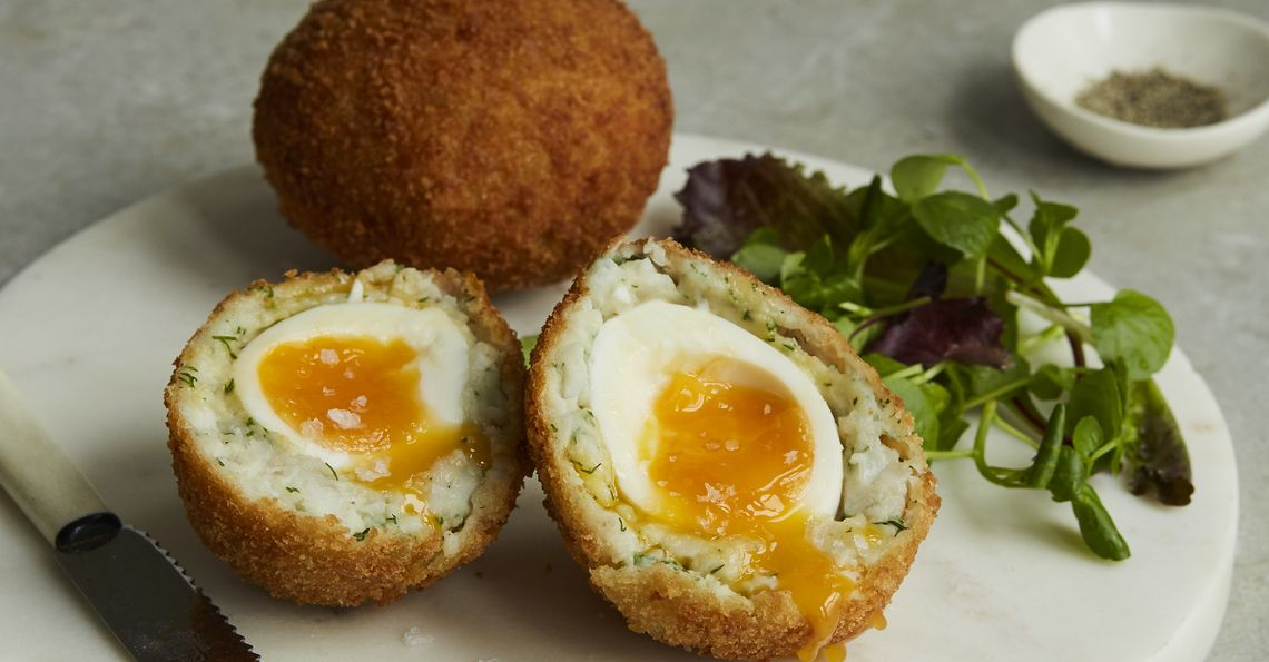 Tom Daley's Smoked Haddock Scotch Egg