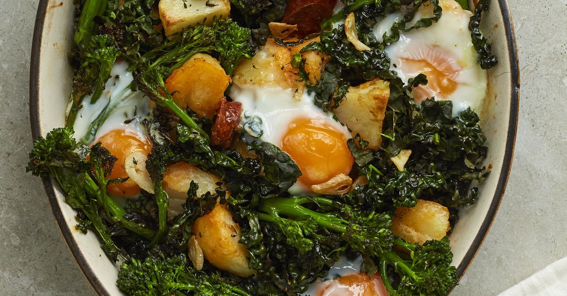 Tom Daley's Tasty Egg Bake