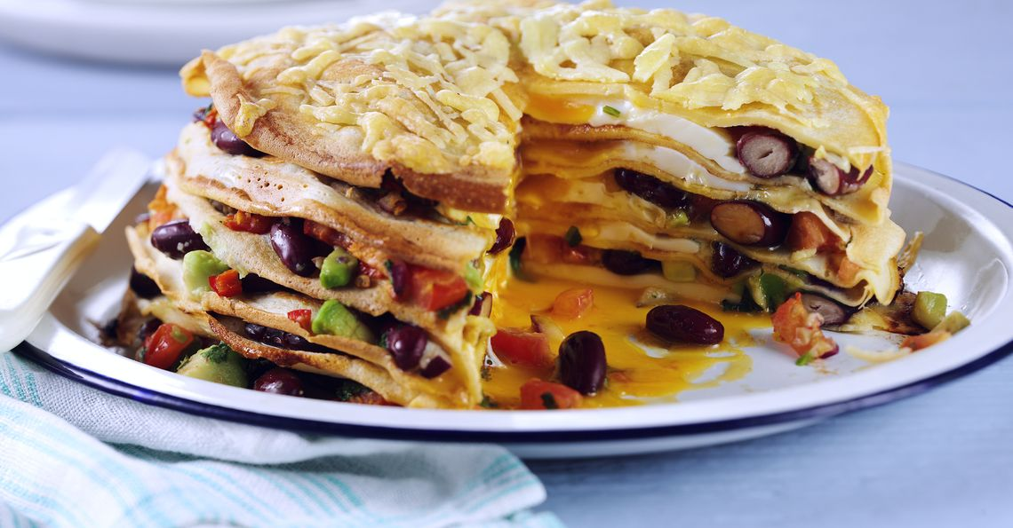Mexican Pancake Stack