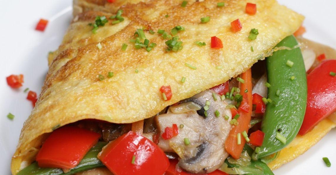 Stir-fry Dinner Omelette