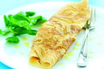 An easy omelette