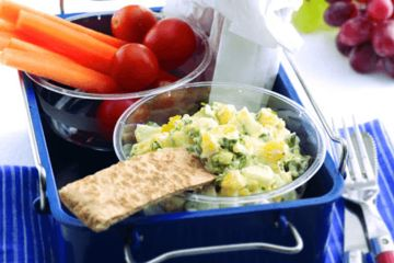 Egg and cress dip