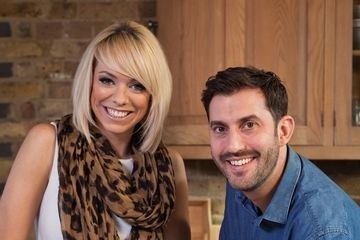 Liz McClarnon and Mark Sargeant