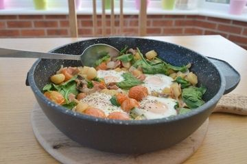 One pan healthy breakfast