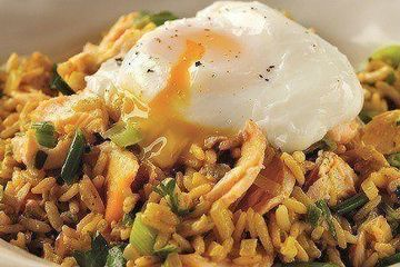 Cheat's kedgeree