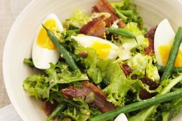 Gizzi Erskine's old school frisée, bacon and egg salad