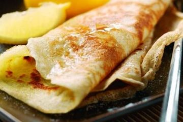 how to make pancakes without eggs uk