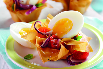 Filo eggs nests