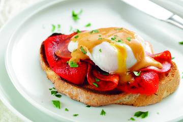 Spanish Eggs Benedict