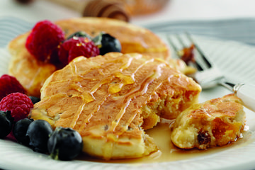Fruit Scotch Pancakes