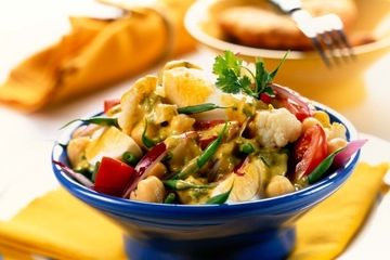 Indian egg and potato salad