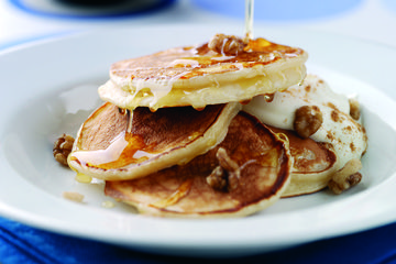 Tiganites - Greek pancakes