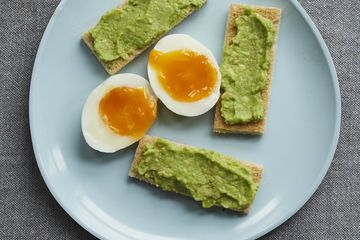 Tom Daley's Boiled Egg and Avocado Soldiers