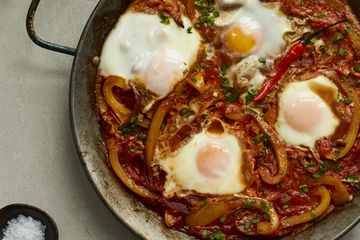 Tom Daley's One Pot Piri Piri Baked Eggs