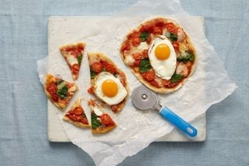 Baby Brunch Pizza