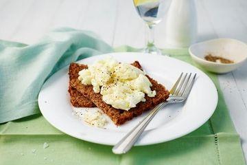 Scrambled egg whites
