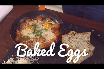 Embedded thumbnail for Crumbs Food's baked eggs